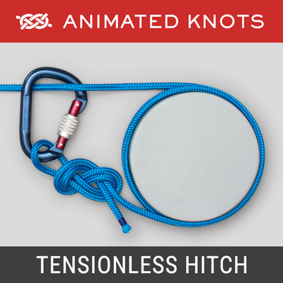 Tensionless Hitch - Rescue work or Rappelling