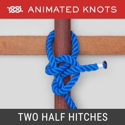 Two Half Hitches Knot - Horse and Farm Knot
