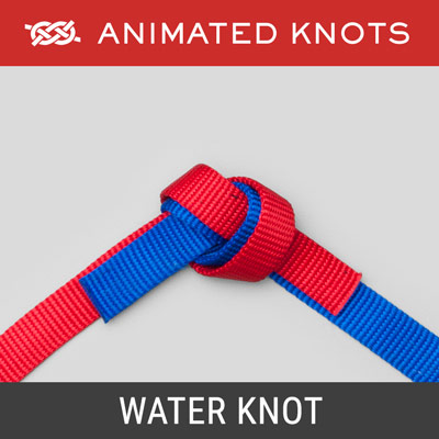 Water Knot - Joins two pieces of webbing strapping