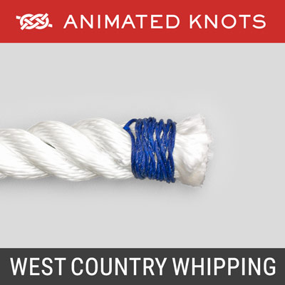 West Country Whipping - prevents end of rope from fraying
