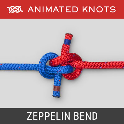 Zeppelin Bend Knot - Joins two ropes